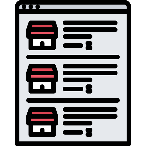 Business Listing Management Icon